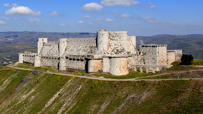 Crac des Chevaliers fortress (Photo from wikipedia.org)