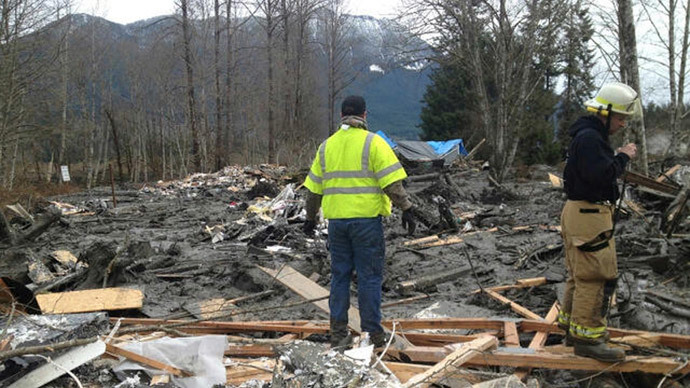 8 killed, 18 missing in Washington state landslide