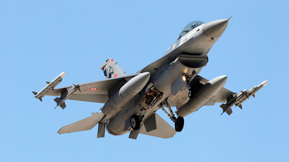 Turkish F-16 fighter jet (Reuters / Umit Bektas)