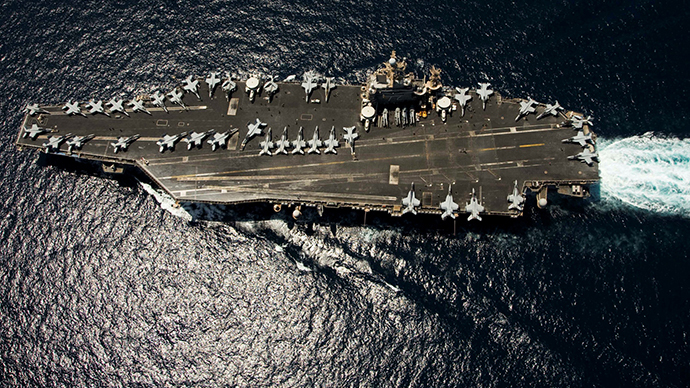 Nimitz-class aircraft carrier USS Abraham Lincoln (AFP Photo / US Navy)