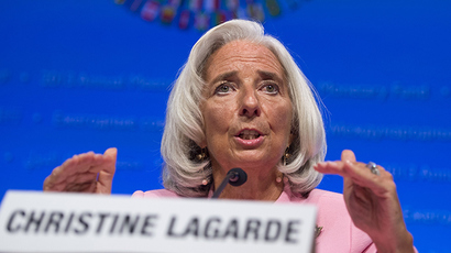 Head of the International Monetary Fund (IMF), Christine Lagarde (AFP Photo)