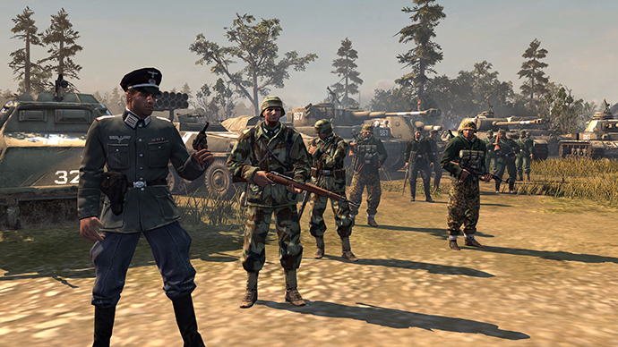 Screenshot from 'Company of Heroes 2'