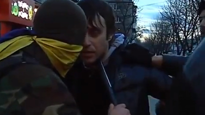 Wolfsangel in E. Ukraine: Foreign Policy talks to deputy leader of 'pro-govt' Azov Battalion