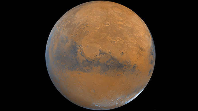 The 'Red Planet' on Earth: Spanish scientists recreate ...