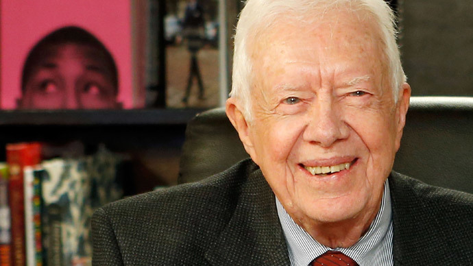 Former US President Jimmy Carter (Jemal Countess / Getty Images / AFP)