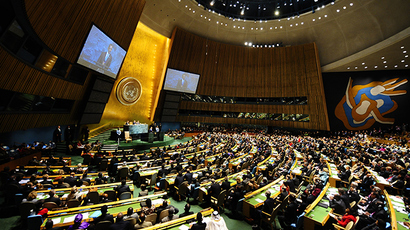 General Assembly at the United Nations headquarters in New York (Reuters / Emmanuel Dunand)