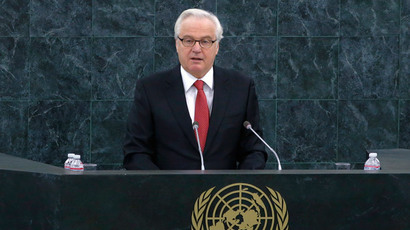 Russia's Ambassador to the U.N. Vitaly Churkin (Reuters / Eduardo Munoz)