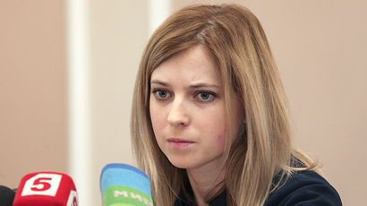 Japan's darling Natalia Poklonskaya on Tokyo Russia sanctions list
