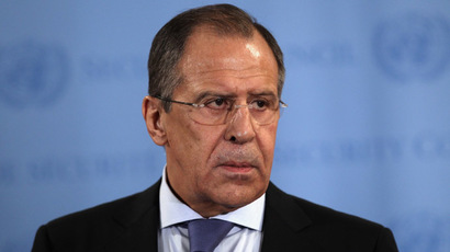 Russian Foreign Minister Sergey Lavrov (John Moore/Getty Images/AFP)