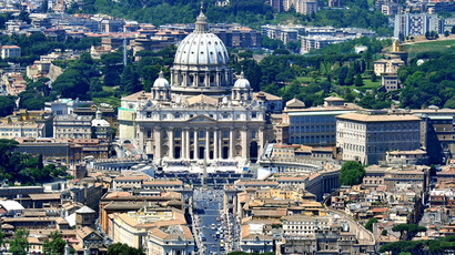 An aerial view of the Vatican City (AFP Photo)