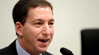 The Guardian's Brazil-based reporter Glenn Greenwald.(AFP Photo / Evaristo Sa)