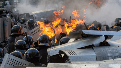 '100% sure Berkut police didn't shoot people in Kiev' – ex-Ukrainian interior minister