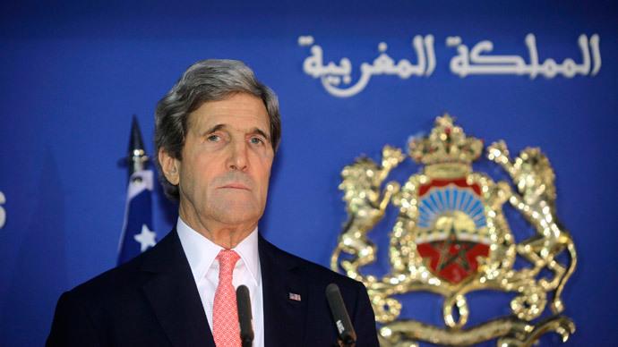U.S. Secretary of State John Kerry.(Reuters / Stringer)