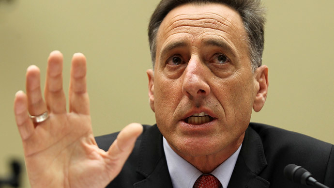 Peter Shumlin.(AFP Photo / Alex Wong)