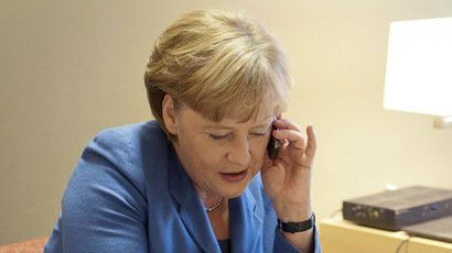 German Chancellor Angela Merkel (AFP Photo)