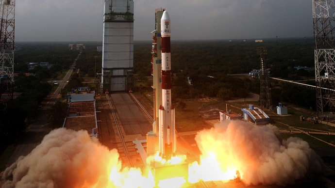 Indian navigation satellite soars into orbit, step closer to own GPS-like system