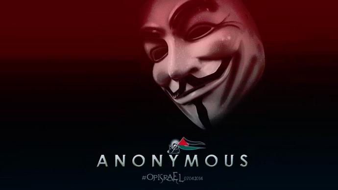 #OpIsrael: Anonymous attacks hundreds of Israeli websites