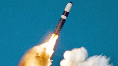 A Trident II, or D-5 missile.(Reuters / STR)