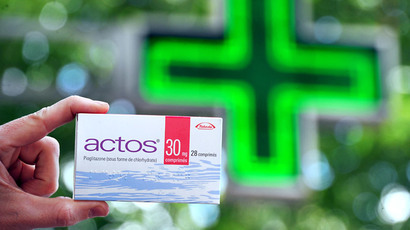 Actos antidiabetic drugs.(AFP Photo / Philippe Huguen)