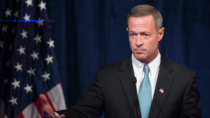 Maryland Governor Martin O'Malley (AFP Photo / Jim Watson)