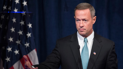 Maryland Governor Martin O'Malley (AFP Photo / Jim Watson)