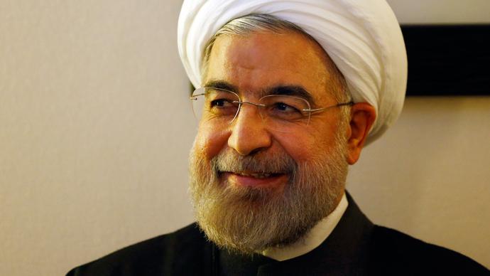 Iranian President Hassan Rouhani (Reuters / Denis Balibouse)
