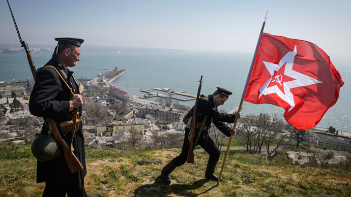 Memory, not history: 70 years on, Crimea's Kerch celebrates liberation from Nazis