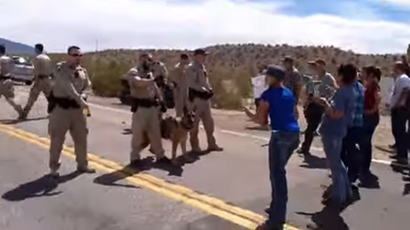 Supporters gather to defend Bundy ranch in Nevada, FAA enacts no-fly zone