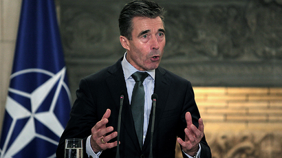 NATO Secretary General Anders Fogh Rasmussen (AFP Photo / Angelos Tzortzinis)