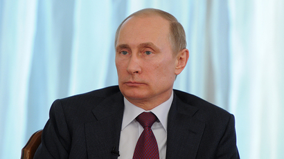 Putin: I'm concerned Ukraine radicals can disrupt gas transit