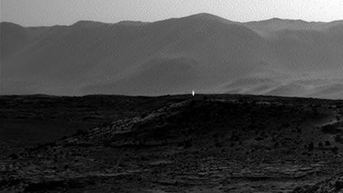 NASA offers explanation for Mars mystery light
