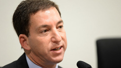 The Guardian's Brazil-based reporter Glenn Greenwald.(AFP Photo / Evaristo Sa )