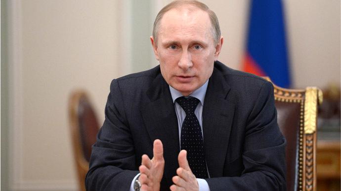 Russian President Vladimir Putin (RIA Novosti/Aleksey Nikolskyi)