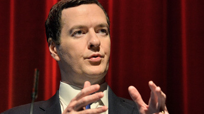 Britain's Chancellor of the Exchequer George Osborne (AFP Photo / Pool / John Stillwell)