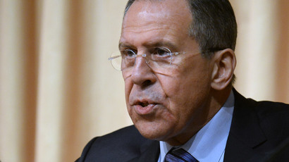 Russian Foreign Minister Sergey Lavrov (AFP Photo / Vasily Maximov)