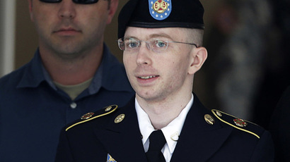 Chelsea Manning, formerly known as Bradley (Reuters/Gary Cameron)