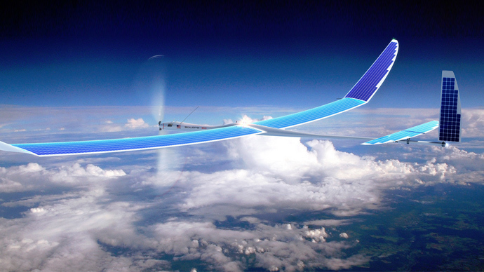 Google buys web-beaming solar drones capable of flying for years at a time