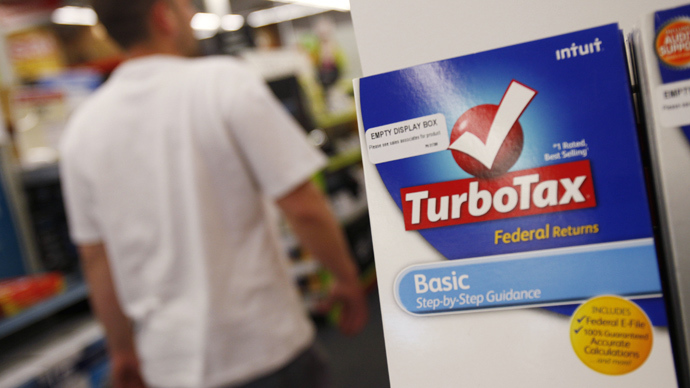 TurboTax maker spending millions to kill simplified IRS tax filing