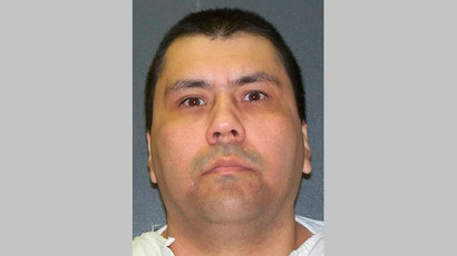 Death row inmate Jose Luis Villegas Jr is seen in an undated photo released by the Texas Department of Criminal Justice in Huntsville, Texas. Villegas is scheduled to be executed at the Huntsville State Penitentiary April 16, 2014. (Reuters / Texas Department of Criminal Justice / Handout)
