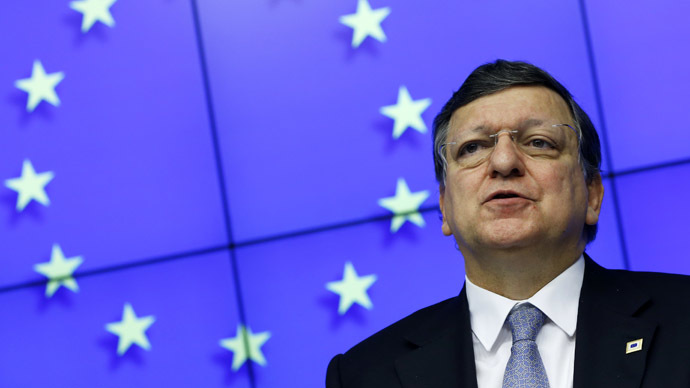 European Commission President Jose Manuel Barroso (Reuters/Yves Herman)