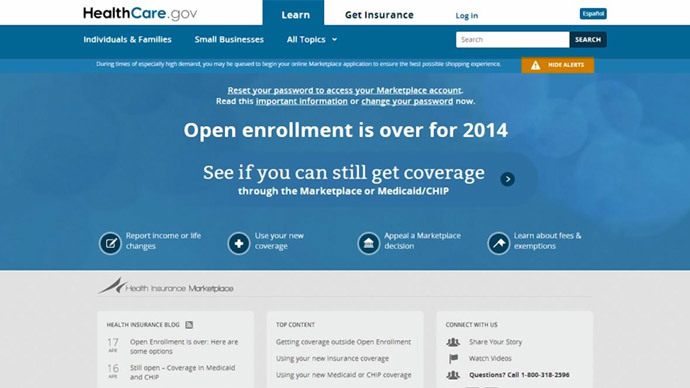 Obamacare enrollees warned about Heartbleed super bug