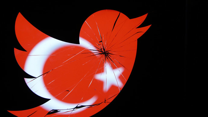 Twitter blocks two accounts critical of Turkish govt