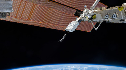 The Small Satellite Orbital Deployer  (Reuters / NASA / Handout )