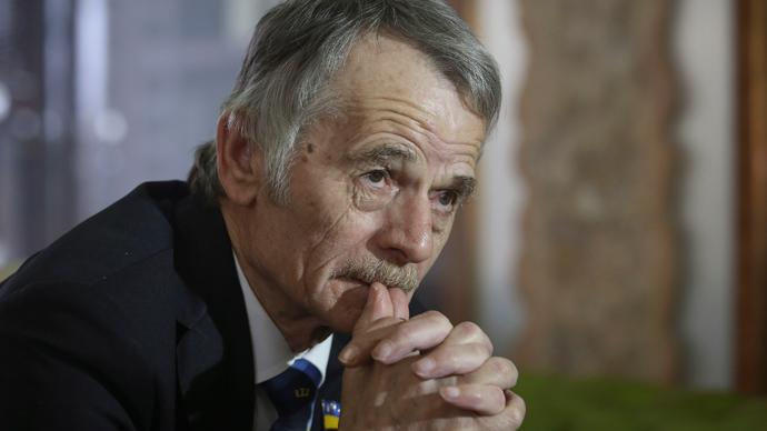 Mustafa Dzhemilev (Reuters / Konstantin Grishin)