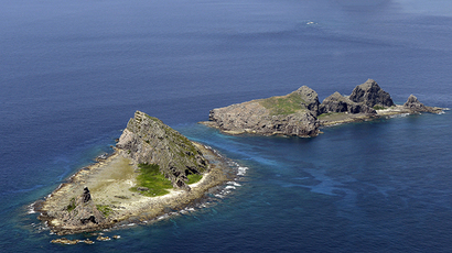 A group of disputed islands, Uotsuri island (top), Minamikojima (bottom) and Kitakojima, known as Senkaku in Japan and Diaoyu in China is seen in the East China Sea (Reuters / Kyodo)