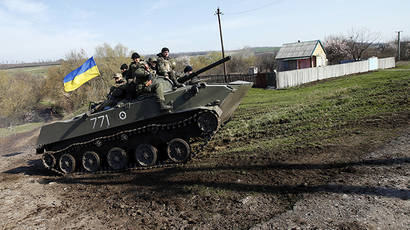 Gunmen attack self-defense forces in eastern Ukraine