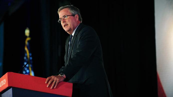Former Florida Governor Jeb Bush.(Reuters / Mary F. Calvert)