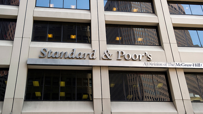 Ukraine drag: S&P cuts Russia's credit rating to step above junk