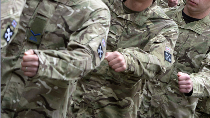 Unfit sentries: One-third of UK special army guard soldiers have medical restrictions