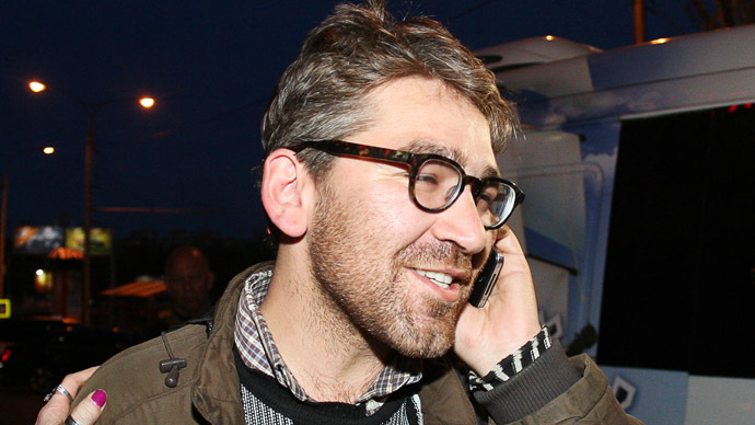 US journalist Simon Ostrovsky (AFP Photo/Alexander Khudoteply)
